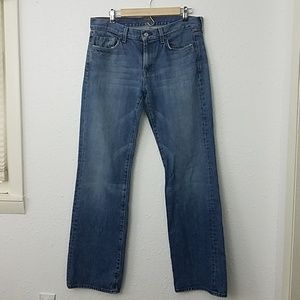 7 for all mankind Jeans Bootcut sz 33 medium wash